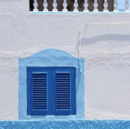 Une fênetre à Agaete par Christine Vaufrey, das Fenster in El Puerto de las Nieves, a window in Gran Canaria