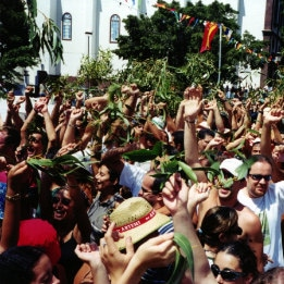 Frénésie à la fête traditionnelle de La Rama, par Clinton Fowler, das kanarische berühmte Fest La Rama de Agaete, http://www.agaete.es/
