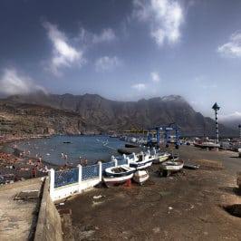 Plage d'Agaete par Damien Maziller, El Puerto de las Nieves beach, Strand im Norden von Gran Canaria