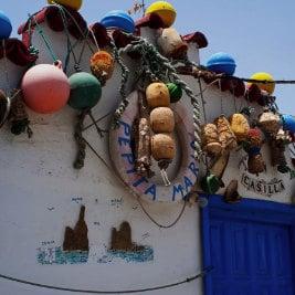 El Dedo de Dios antes y después, por Diego Garcés, maison typique à El Puerto de las Nieves, Fischerhaus in Agaete, fisherman house in the Canaries