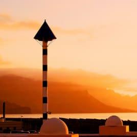 Vanilla sunset by Iván García, la queu du dragon au coucher du soleil en Agaete, Sonnenuntergang in El Puerto de las Nieves, puesta de sol en el norte de Gran Canaria