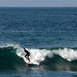 Surf in Sardina del Norte by Sebastian Gerhard, surf dans le nord de Grande Canarie, Surfen in Gran Canaria