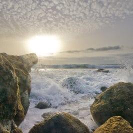 David Marquina, Plage El Risco, playa de El Risco, islas Canarias, El Risco Strand in Agaete, beautiful beach in the North West coast of Gran Canaria