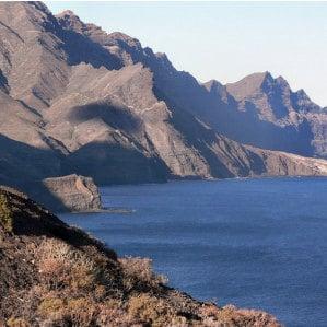 Duncan Gladys, road from Agaete to La Aldea, Aussicht der Strasse von Agaete bis Mogán in Gran Canaria, la Queue du Dragon