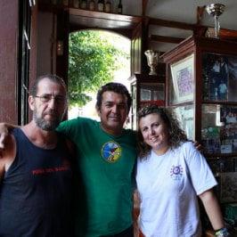 Bar El Perola en Agaete, por Javier, Einheimische von Agete im Bar El Perola
