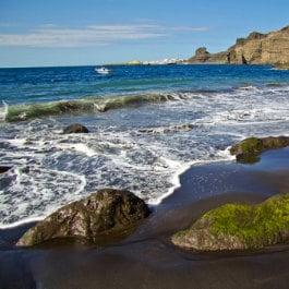 Playa de Guayedra por Jordi Díaz, plage nudiste dans les îles Canaries, naturist beach in Gran Canaria, FKK-Strand in Agaete