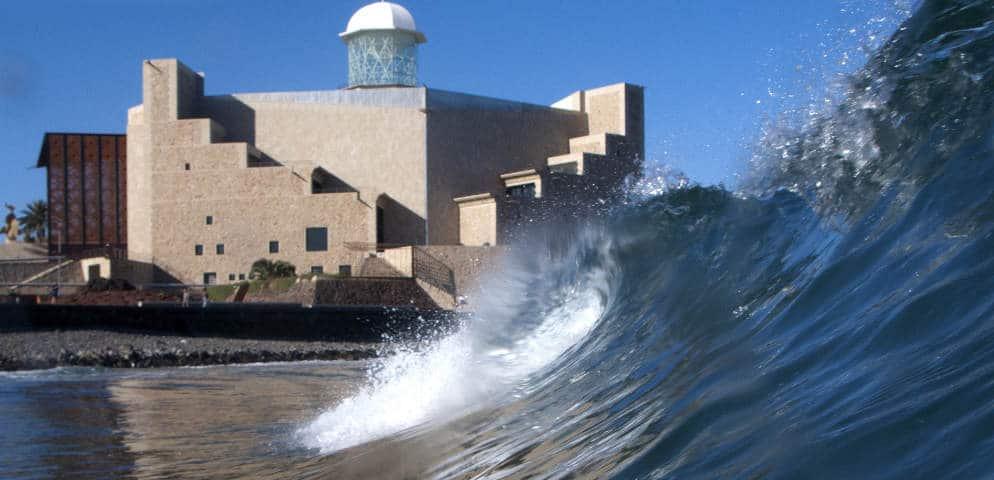 La plage de Las Canteras, Las Palmas de Gran Canaria, Auditorium Alfredo Kraus, Konzerte in Gran Canaria, music in the Canaries