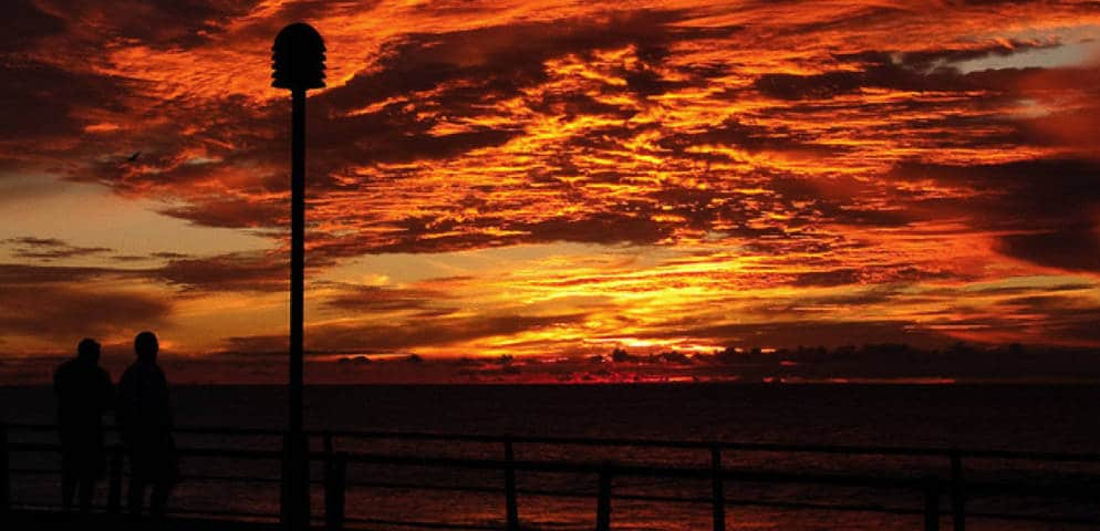 Coucher du soleil à El Puerto de las Nieves, Sonnenuntergang in Agaete, El Puerto de las Nieves, impressive sunset in Agaete, espectacular atardecer en el Puerto de las Nieves