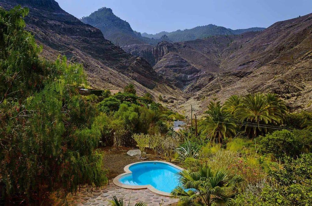 Naturism paradise in the North of Gran Canaria, hébergement nudiste à Agaete, FKK-freundliche Finca auf den Kanaren