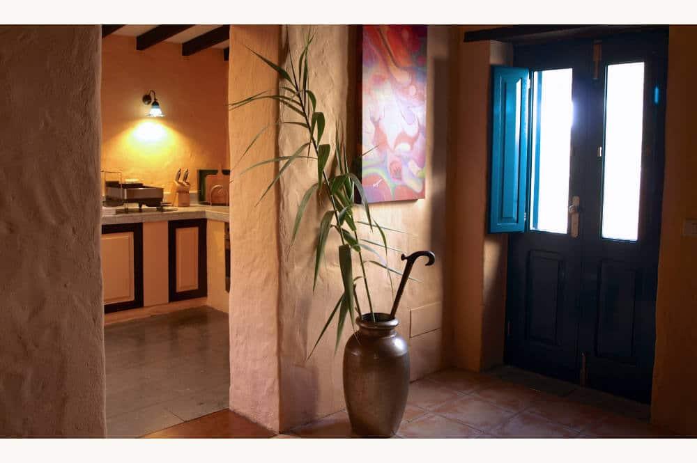 En tout sérénité au salon du gîte El Patio de Agaete, Finca inmitten der Natur, house to rent in El Risco de Agaete, FKK-freundliches Unterkunft, selfcatering for naturists