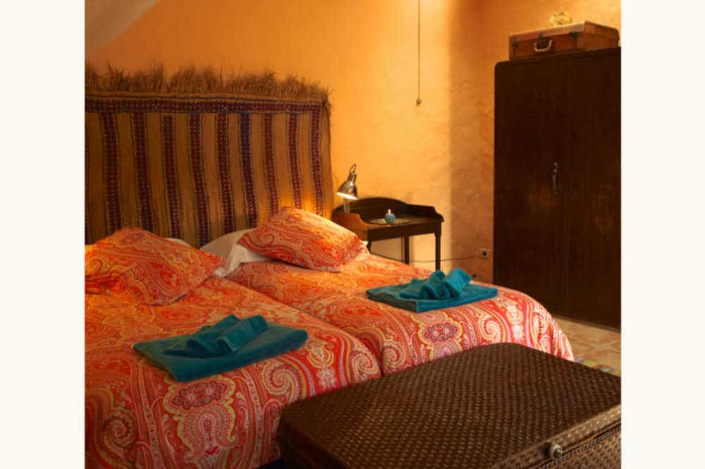 Chambre accueillante gîte Grande Canarie, beautifull room Agaete, einladendes Zimmer in El Risco de Agaete, selfcatering in the Canaries, finca in Naturpark Tamadaba